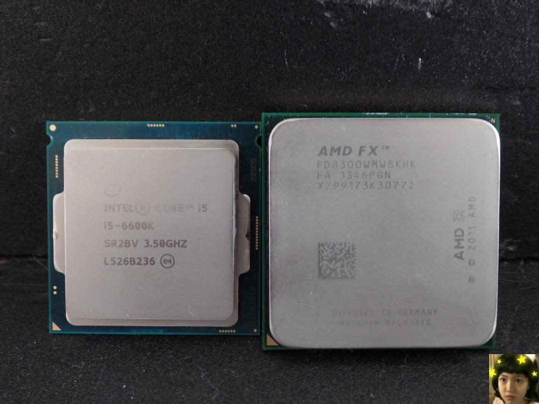 I5 6600K & FX8300 오버워치 게임성능 / CPU 사용량 리뷰