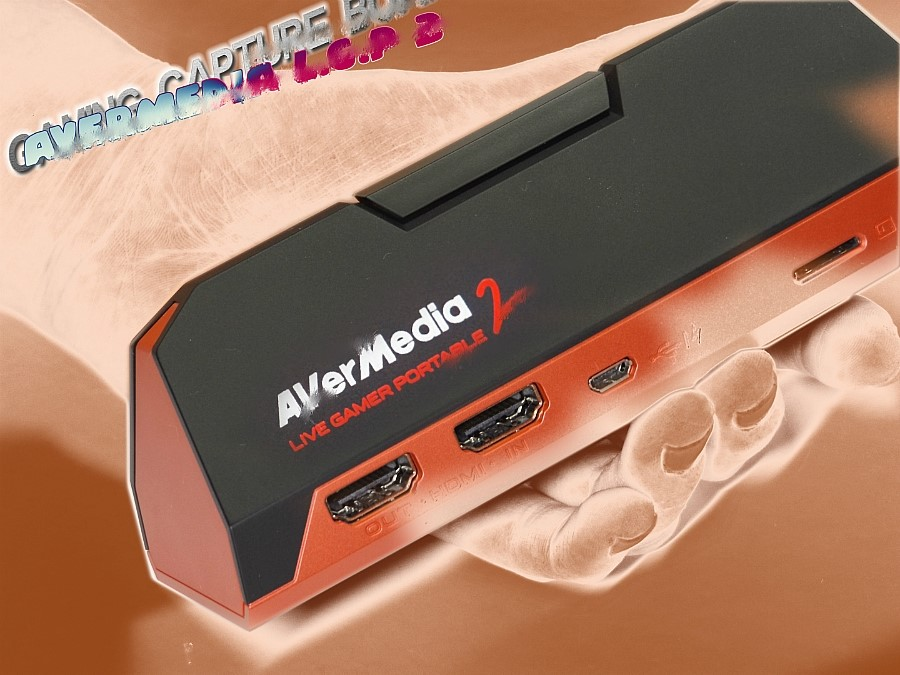 AVerMedia Live Gamer Portable 2 캡...