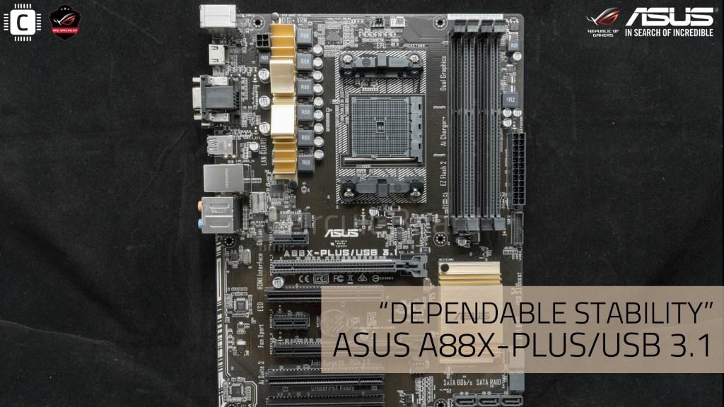 ASUS A88X-PLUS/USB3.1 iBORA