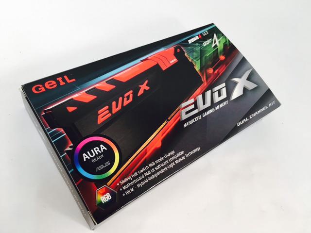 GeIL DDR4 16G PC4-25600 CL16 EVO-X ...