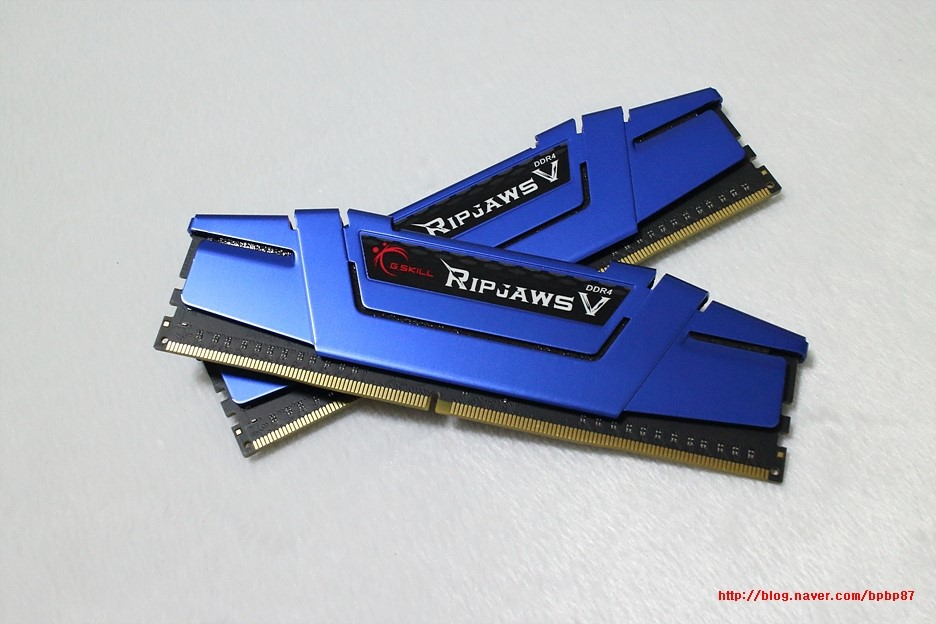 메모리는 역시 지스킬 G.SKILL DDR4 8...