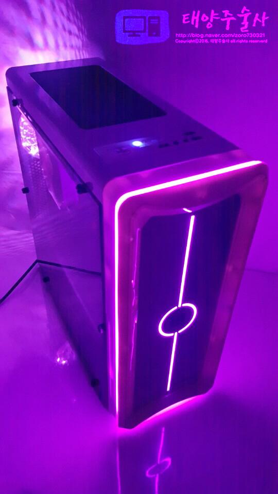 마이크로닉스 레이저 RGB LED