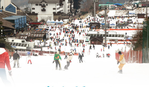스키장의 계절이 돌아왔다!