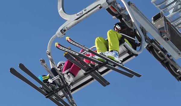 겨울 추위 극복은 스키장에서