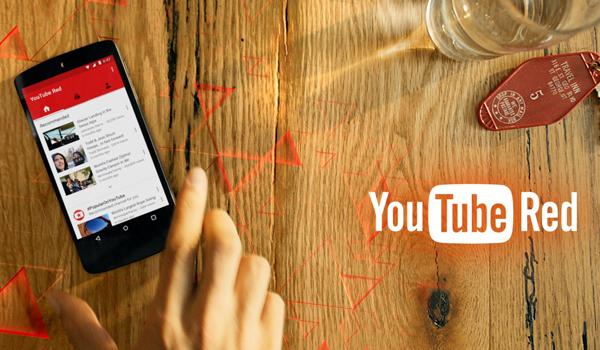 유투브 유료 서비스 시작, 레드!