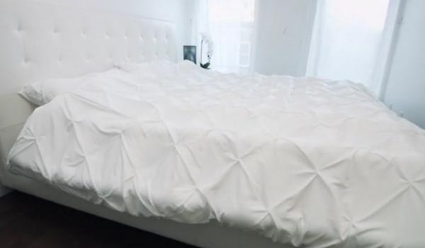 침대 이불 정리가 귀찮다면?