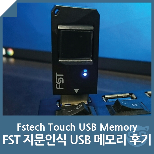 FST 지문인식 USB 메모리 후기 - FSTE...