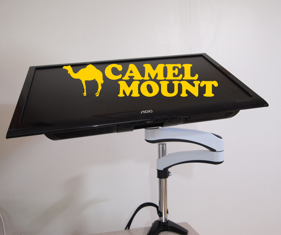 카멜 FMA-2 모니터거치대 체험단 사용...