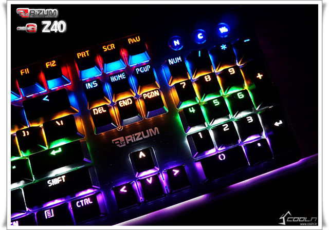 RIZUM G-FACTOR Z40 Rainbow Aluminum...