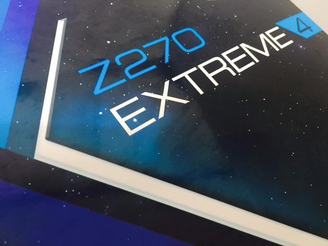 Upgrade Complete, ASRock Z270 EXTRE...