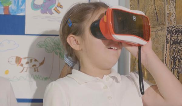 아이들의 상상력이 녹아든 VR