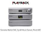 안드레아스 코흐의 와인빛 선물  - Playback Designs Sonoma Merlot DAC, Syrah Music Server, Pinot ADC