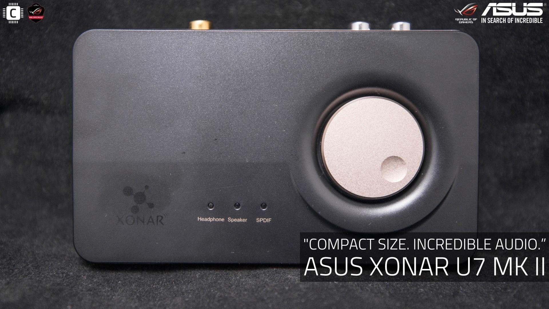 성능/기능편│ASUS Xonar U7 MK II (...