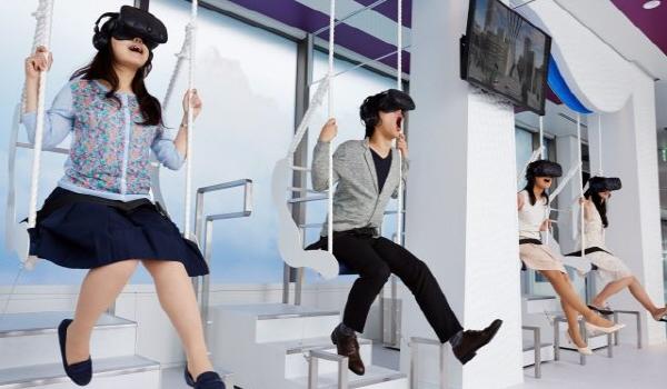 日 도쿄의 VR체험 테마공간