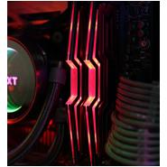 레드 LED 튜닝 오버클럭 메모리 ADATA...