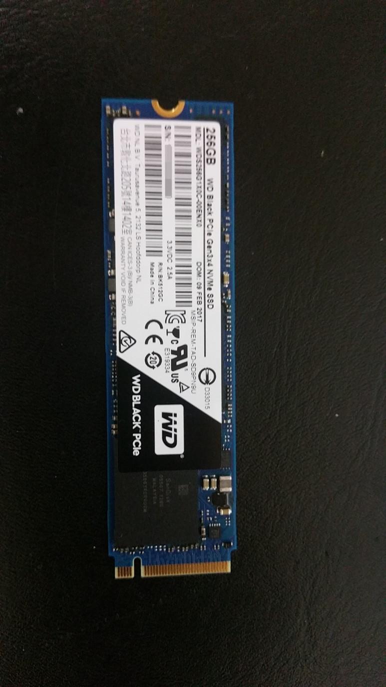 WD Black SSD 256GB 리뷰
