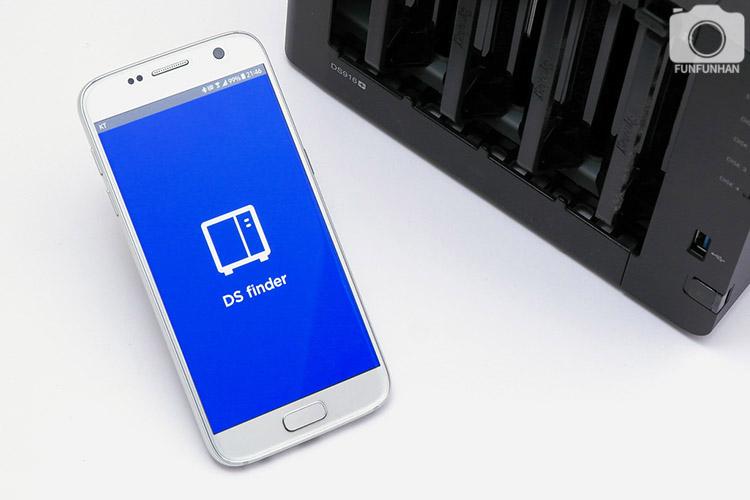 시놀로지 DS916+ 모바일 앱 사용기!...