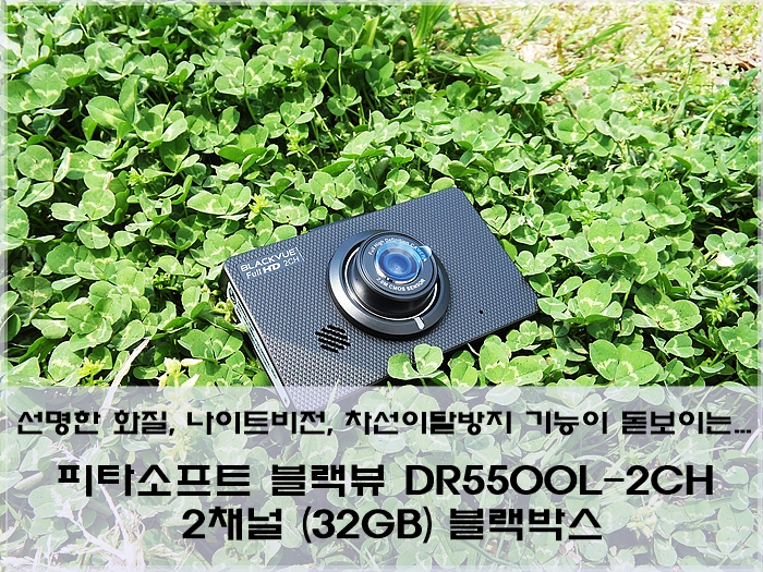 피타소프트 블랙뷰 DR5500L-2CH 2채널 32GB