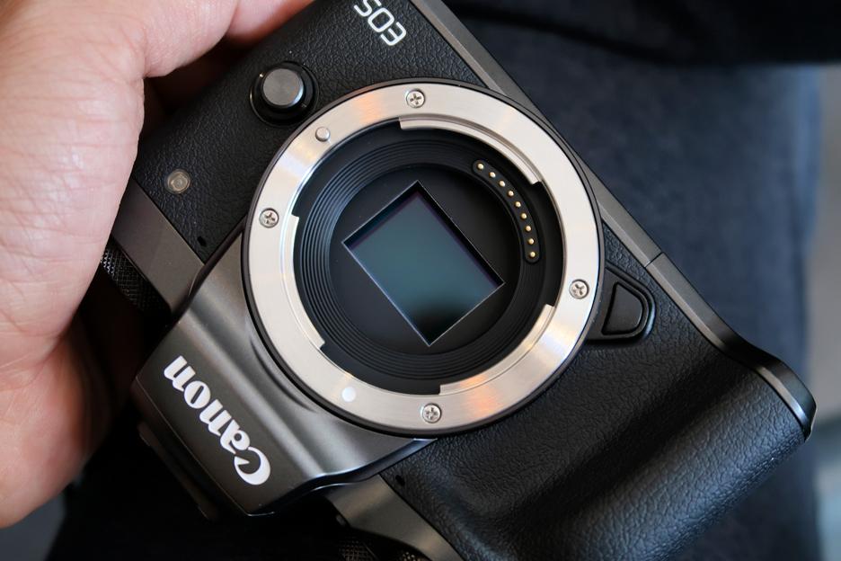 캐논 미러리스 카메라 M5 첫느낌은...