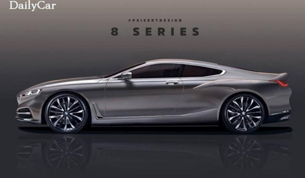 BMW 8시리즈 예상 렌더링!