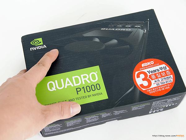 리드텍 쿼드로 P1000 D5 4GB ABKO vs ...