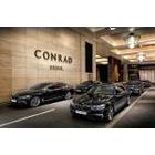 BMW, 콘래드 서울에 뉴 7시리즈 리무진 차량  제공