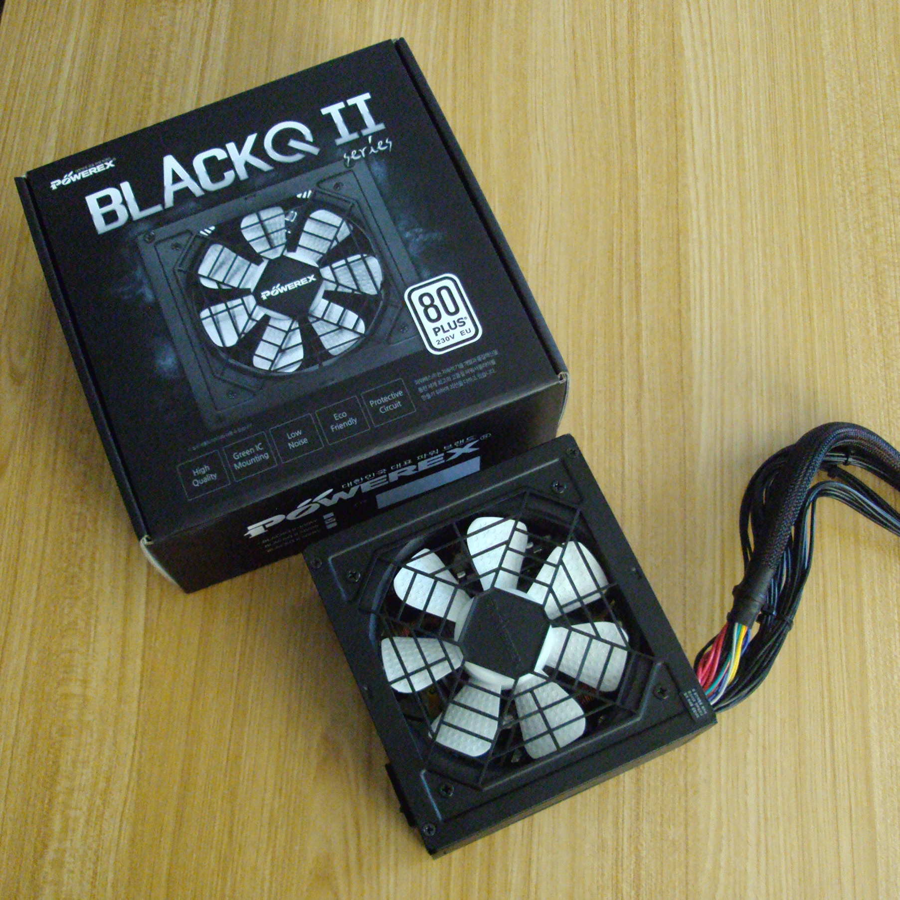 POWEREX BLACKQ II 500W 80PLUS