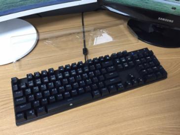 앱코 K640 기계식 키보드 [갈축]