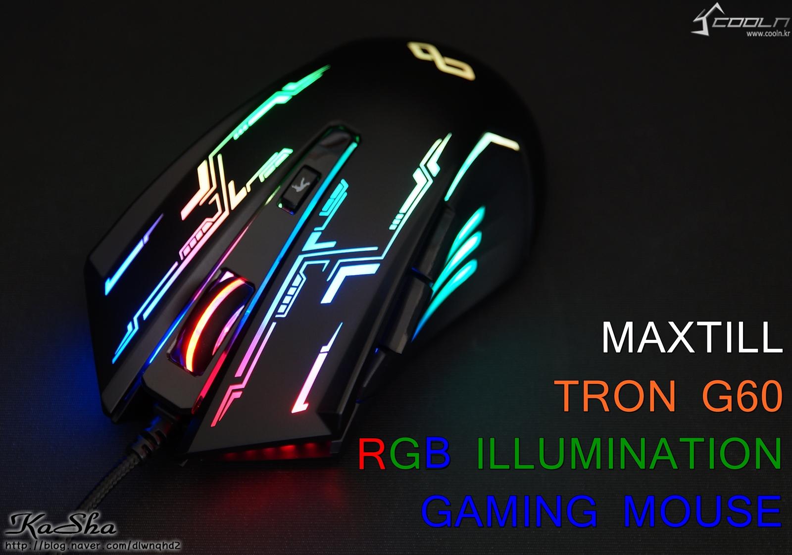 MAXTILL TRON G60 RGB ILLUMINATION ...