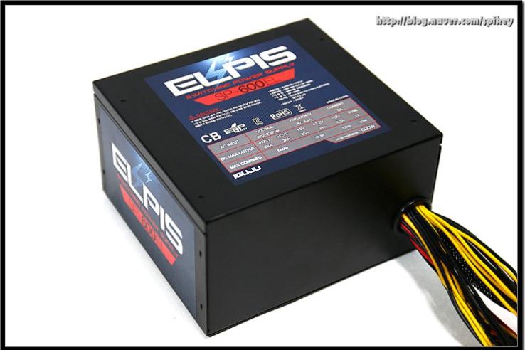 멀티레일 파워 아이구주 ELPIS SP-600EL 사용기