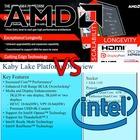AMD 라이젠 vs 인텔 카비레이크,같지만 다른 쉽게보는 기능 차이