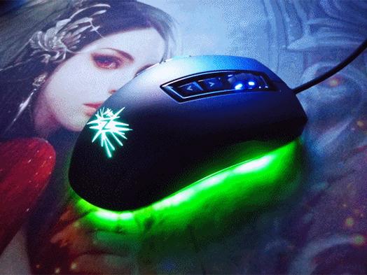 뛰어난 성능을 보여주는 스카이디지탈 NKEY G510 스파크 게이밍 마우스