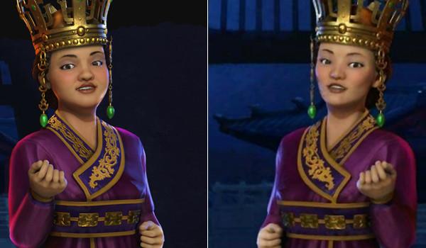 '문명 6' 선덕여왕 성형했다!