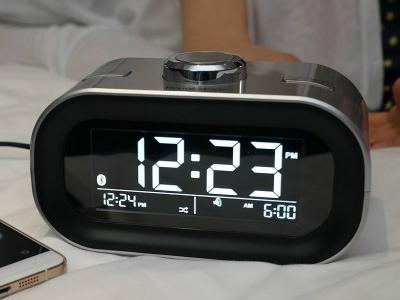 100원 경매 [IoT 리뷰제품] TimeSmart App Controlled Alarm Clock