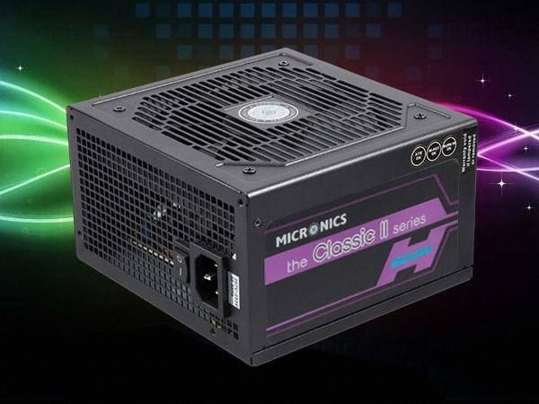 100원 경매 마이크로닉스 Classic II 600W +12V Single Rail 85+