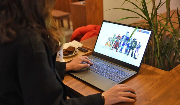 배그 치킨은 노트북이 결정해!