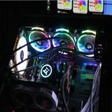 일체형 수냉 쿨러 써멀테이크 플로우 링 RGB 360 TT 프리미엄 에디션 아스크텍 사용 리뷰