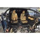 테슬라 모델X 치명적 사고, 폭발 화재로 운전자 사망