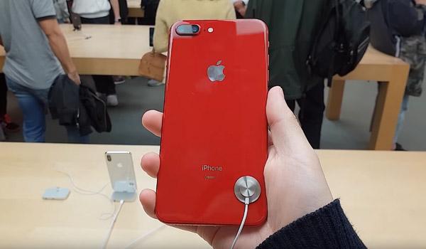아이폰 8, 8+ 레드 첫인상