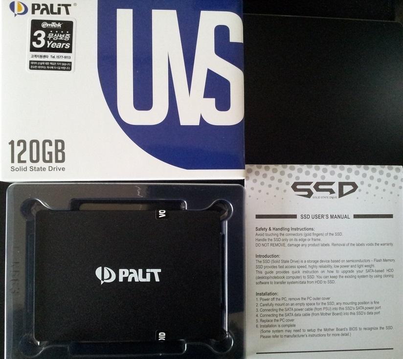 PALIT UVS-SSD (120GB)