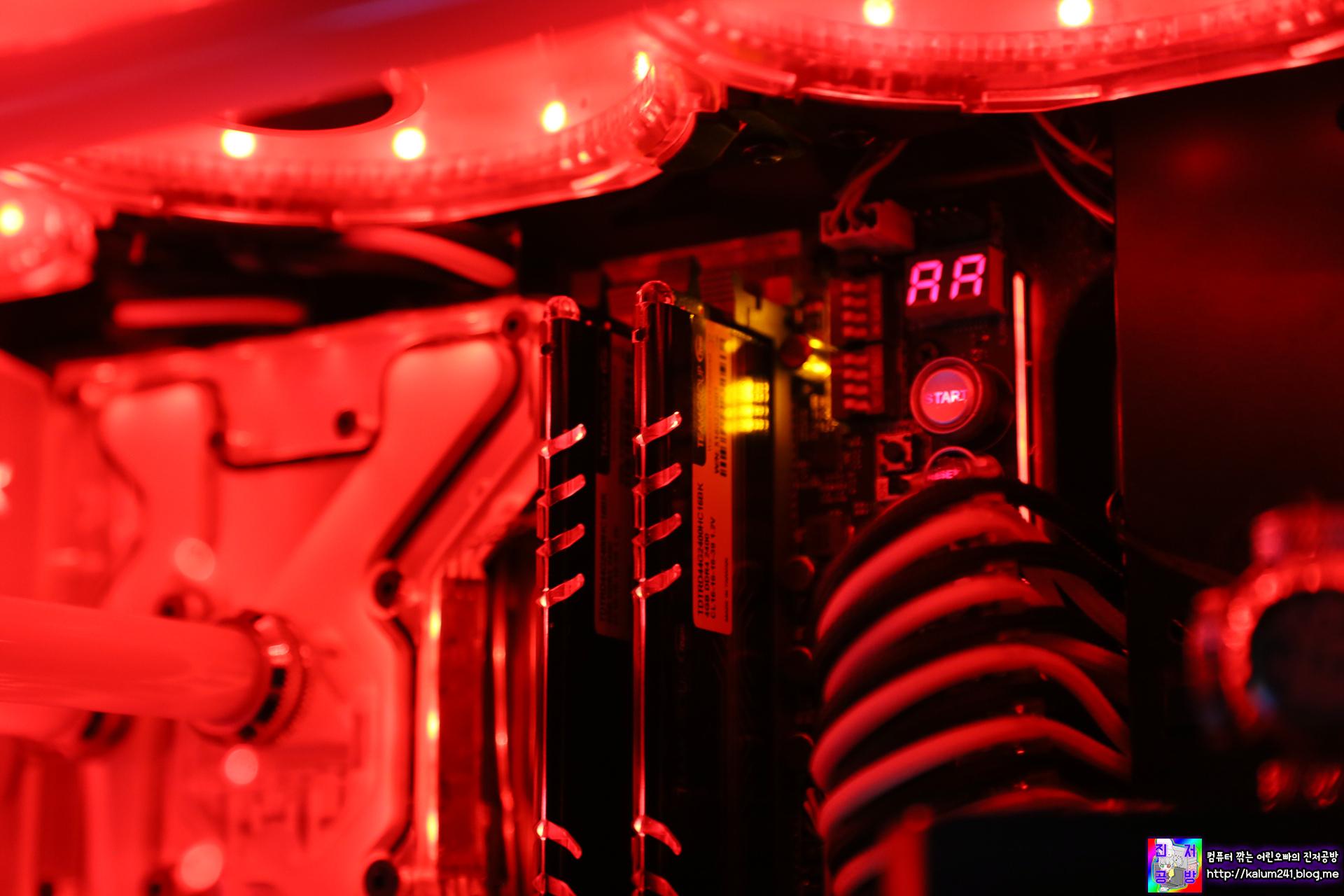 아벡시아의 영혼을 잇는 TeamGroup 의 Delta LED 메모리!