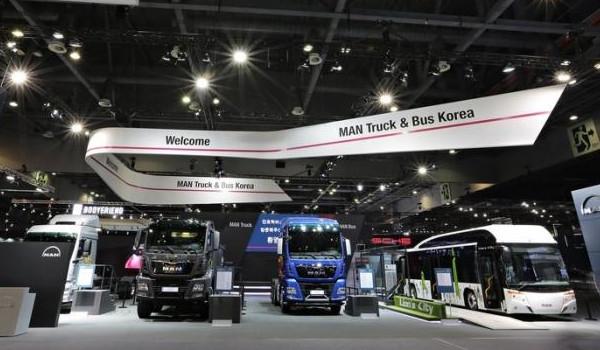 만트럭버스, 2018 부산모터쇼