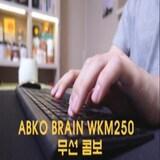 사무용으로 제격인 ABKO BRAIN WKM250 무선 콤보