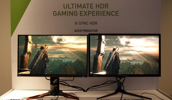 NVIDIA의 신무기, G-SYNC HDR