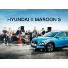 현대차, 'Maroon 5'와 글로벌 브랜드 캠페인 진행