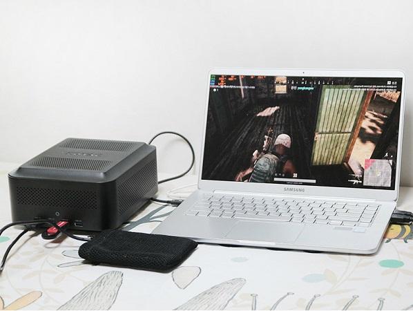 다기능 eGPU ZOTAC AMP BOX Mini + ZOTAC AMP GTX1060 사용기