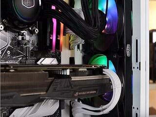인텔 40주년 한정판 i7-8086K 탑재 하이엔드PC! PC가 이렇게 예뻐도 되나요??