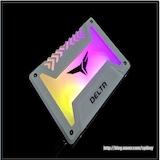 SSD에[ RGB LED가? TeamGroup T-FORCE DELTA RGB SSD