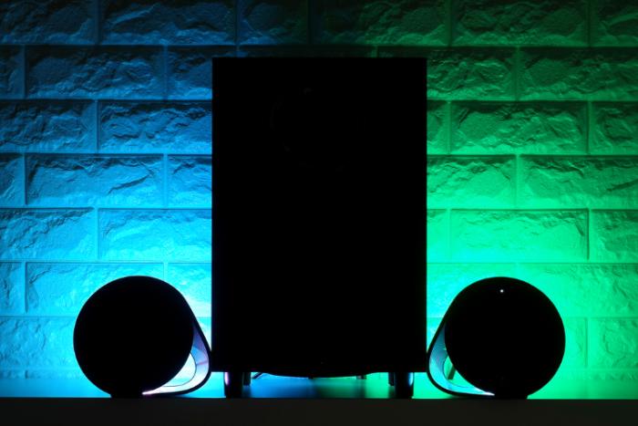 로지텍 G560 LIGHTSYNC PC 게이밍 스피커 개봉기!