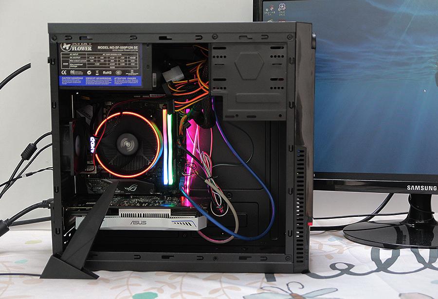 [M-iTX]AMD 라이젠 7 1700 서밋릿지 + ASUS ROG STRIX B450-I Gaming 조립기 - 성능편-